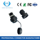 IP68 Front Panel Mounted Male Female Waterproof RJ45 Connector with ethernet cable