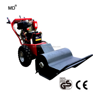 HGC660T Farm fied Steel Chasis Self Propelled flail mower with crushing  grass