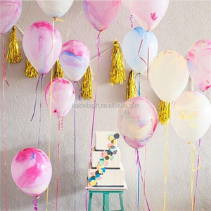 Hot sale! Wholesale price rainbow/marble/agate latex balloons birthday wedding babay party decoration latex balloons
