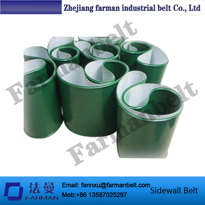 High Quality Food Grade Cleated Pvc/Pu Conveyor Belt