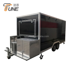 New Condition and Overseas service center available After-sales Service Provided Mobile food trailer car