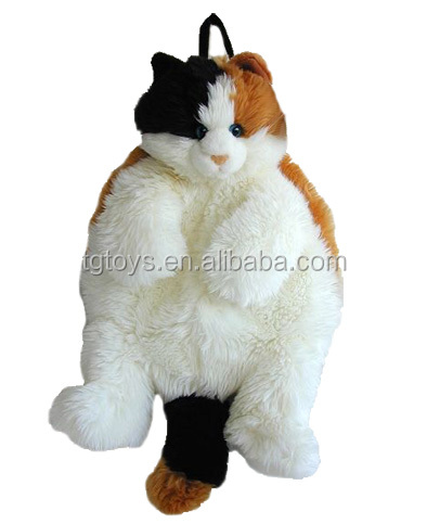 Fat Cat Style Plush Backpack Buy Backpack Plush Backpack Fat Cat