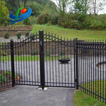 Metal Steel Garden Gate Gates And Steel Fence Design Buy Metal