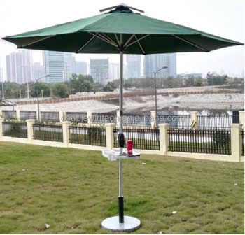 Charmant New Design Rainproof Solar Roma Aluminum Umbrella With Charging System And  Led Lighting System