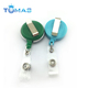 Newest plastic retractable string keychain ski keychain holder yoyo key chain 60cm 80cm