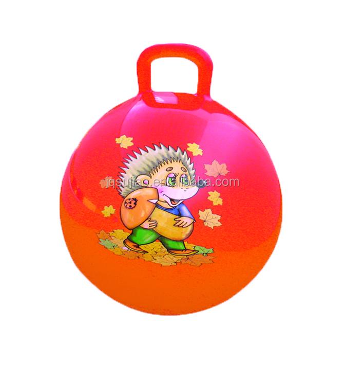 PVC tramoggia palla giocattolo per i bambini vinyle gonfiabile che rimbalza palla che rimbalza fornitore della fabbrica