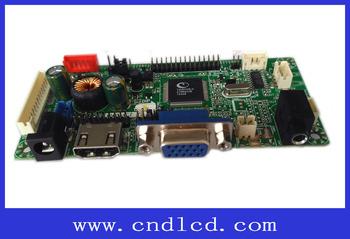 Hdmi Usb Vga Lcd Monitor Dispaly Universal Controller Driver Mother Card  Board - Buy Universal Lcd Controller Board,Hdmi Usb Vga Lcd Driver  Board,Full