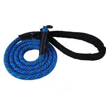 nylon braided rope dog leash