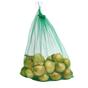 Wholesale cheap custom orange mesh vegetable bags