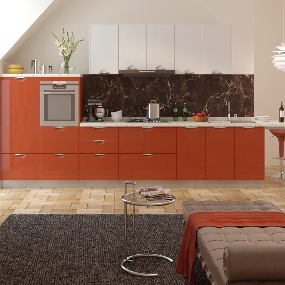 Lacquer Paint Door : Linkok furniture modern lacquer material kitchen