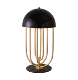 bedside table light for hotel decorate modern brass table lamp