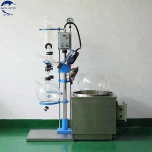 small vacuum distillation equipment /glass rotovap rotary evaporator 20l