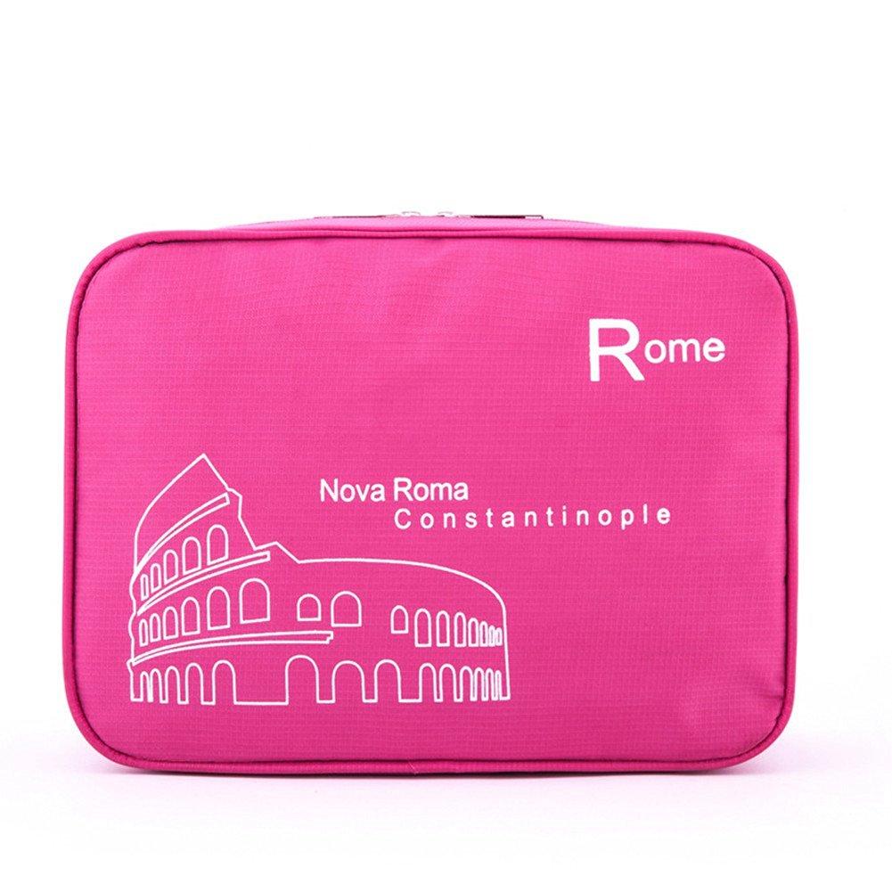 Get Quotations · E-Livingstyle Portable Toiletry Bag Wash Bag Bathroom  Hanging Bag Travel Bag Zipper Storage Bag 8d5c192ee71d6