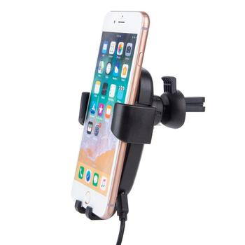 official photos 57899 e30e6 Blue Light 10w Air Vent Mount Phone Stand Holder Fast Wireless Car Charger  For Iphone X/xs/8 Plus - Buy Wireless Charger Car Mount,Car Mount Wireless  ...