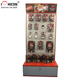 Factory Price Retail Store Pegboard Metal Italy Polishing Equipment Machine Power Tool Display Stand