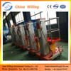 Aluminum alloy hydraulic single person lift/Aerial working platform