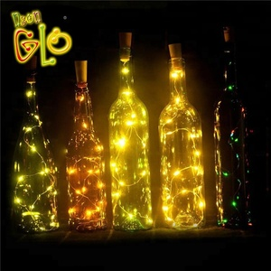 Wedding Decoration Party Supplies LED Cork Wine Bottle Light