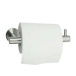 Wall mounted industrial tissue hanging roll toilet recessed jumbo seat rack industrial stainless steel paper dispenser