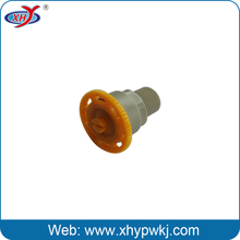 Cooling tower spray plastic nozzle tip