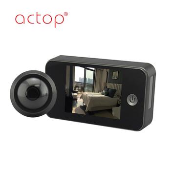 Digital Peephole Viewer,Night Vision Door Camera,3.5 Inch Digital ...