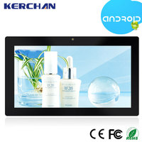 Android 4.4 wifi advertising media player retail wall display systems