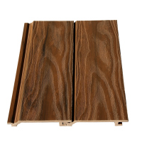 Waterproof wood panels outdoor 3d wall panel WPC wall cladding TF-04E