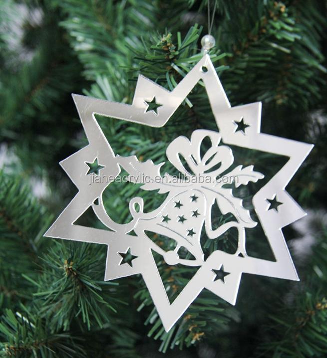 Plexiglass Engraving Christmas Ornaments Acrylic Christmas Tree ...