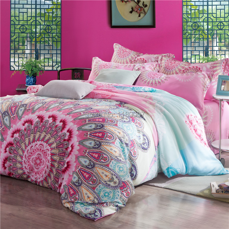 achetez en gros boho style bedding en ligne des grossistes boho style bedding chinois. Black Bedroom Furniture Sets. Home Design Ideas