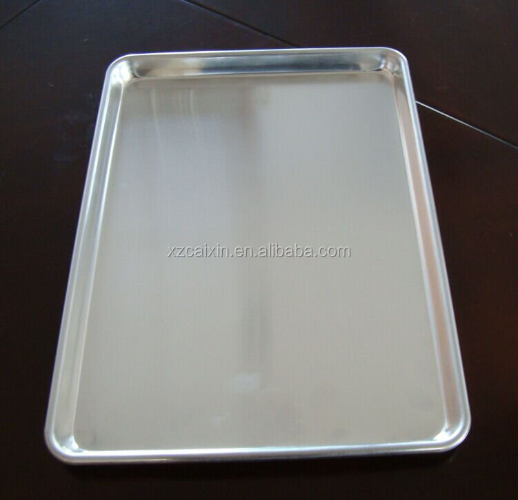 Custom Well Heat Transfer Effect Aluminum Bakeware For Cup