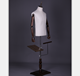 Fabric Dress Form Male Mannequin for Business Suit half body mannequin stand form