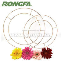 Wholesale metal wire wreath frame for garden use