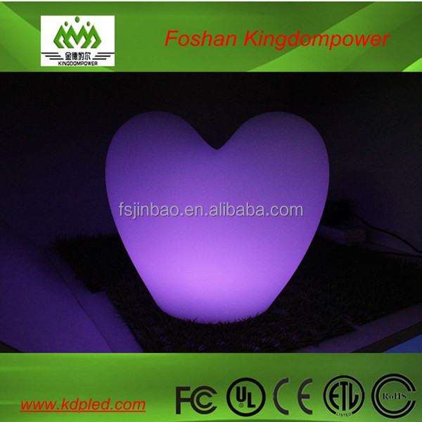 Mini led heart lamp rechargeable colorful bedroom lighting