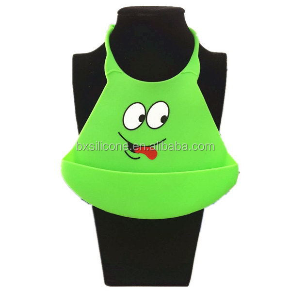 Bottom price Cheapest silicone rubber printed baby bibs