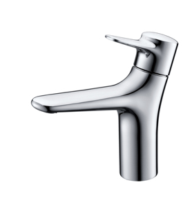 Dogo Bg50123s-Cr Cold Hot Water Brass Basin Faucet Curved Artistic Brass Faucets basin sink tap