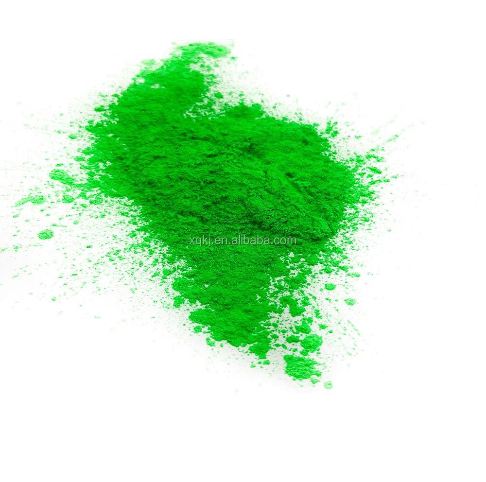 Heißes verkaufendes buntes Leuchtstoffpulver des grünen Phosphors