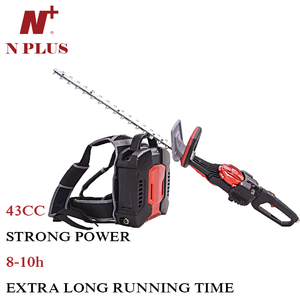 Backpack Grass Trimmer no Gasoline 1.2kw electric Brush Cutter 43cc H758B
