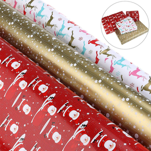 Nice Design xmas wrap paper sheets christmas printing gift wrapping paper