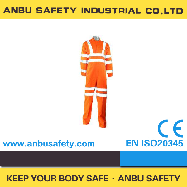 En 531 Chemical Treated Anti Fire Coverall Ppe