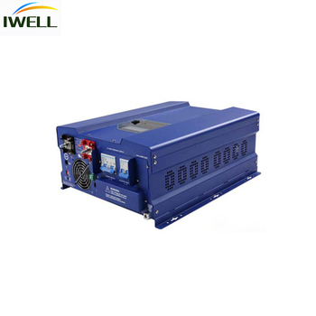 iwell brand dual output PEV off grid inverter 2kw to 12kwsolar inverter for Support Solar Panel with MPPT Function