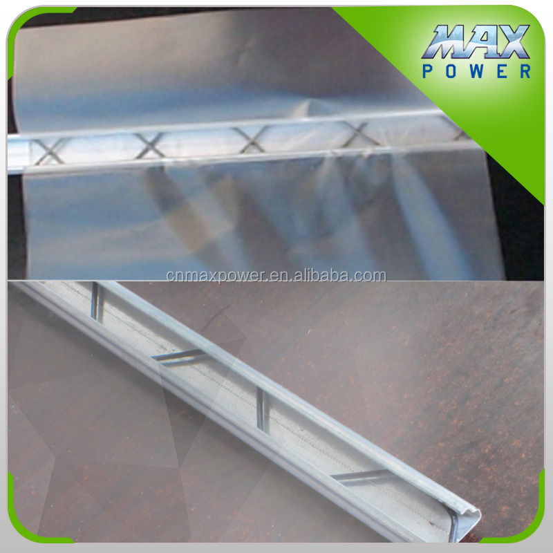 agricultural invernadero for vegetable zigzag wire film fixing