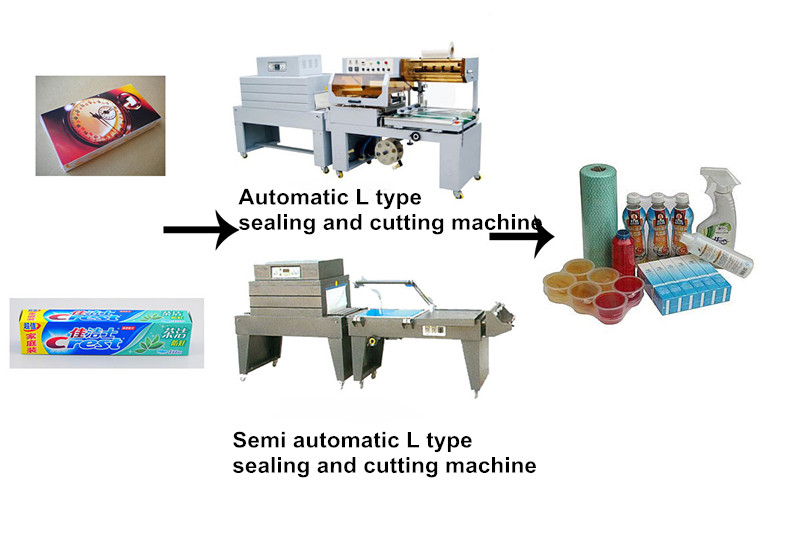 China professional egg tray sealing and shrink wrapping machine