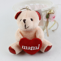 plush toys 2015 hot selling wholesale plush bear cheap stuffed animals Teddy bear with heart
