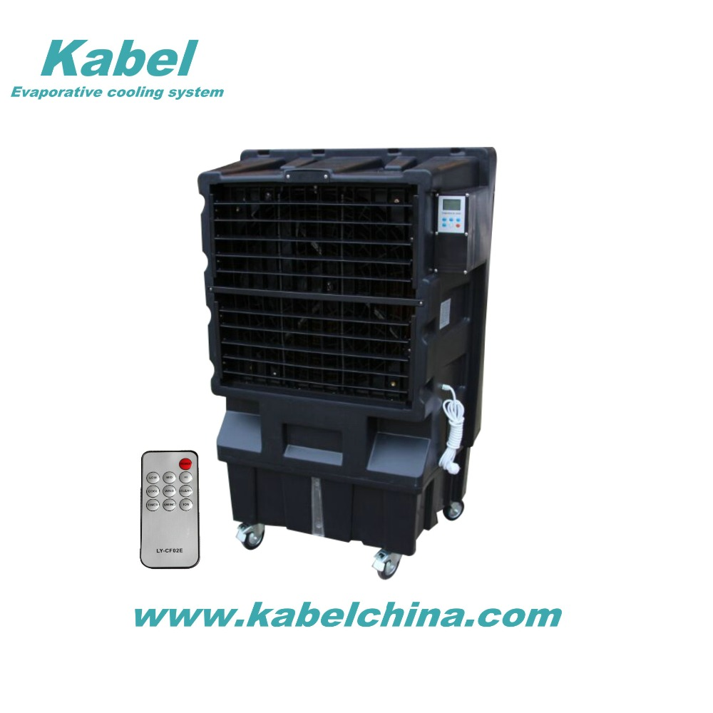 portable big evaporative air cooler swamp water cooling system using indoor and outdoor