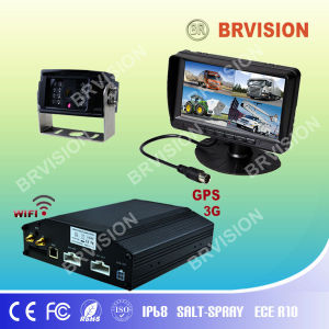 3g mobile dvr IP68 Waterproof camera and monitor