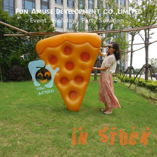 Summer Hot Pool Floats Air Bed 1.8m Inflatable Pizza Slice Float ...
