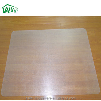 Allife Multi ShapeSize Folding Plastic Pvc Hardwood Floor And Carpet Protection Chair Mat For