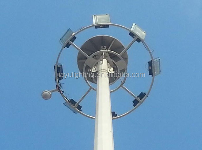 Top quality stadium high mast lighting tower price
