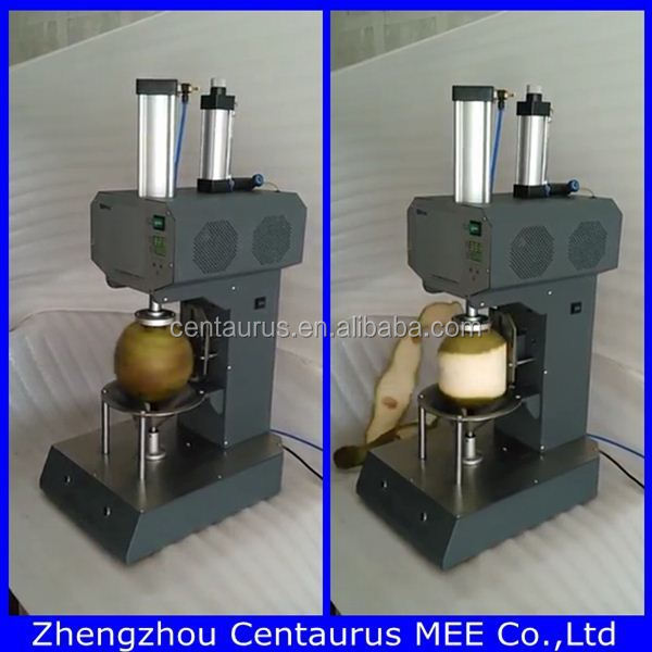 Automatic Young Coconut Peeling Machine/coconut Cutting Machine ...