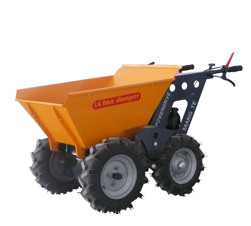 Four-Wheels-Mini-Dumper-4X4-Portable-Ele