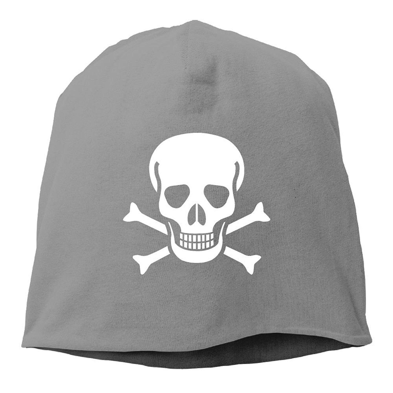 b96f21ba766 Get Quotations · Newking Skull Crossbones Unisex Skull Beanie Knit Hat Cap